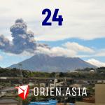 Advent calendar 2020 - 24: Sakurajima volcano, Japan
