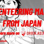 Orienteering manga from Japan