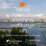 Thailand International Orienteering Championship 2021, Pattaya, 30 October to 7 November with training camp. Part of #AsiaCityRace and Landrunning World Series 2021.