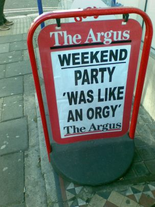 From the Brighton Evening Argus