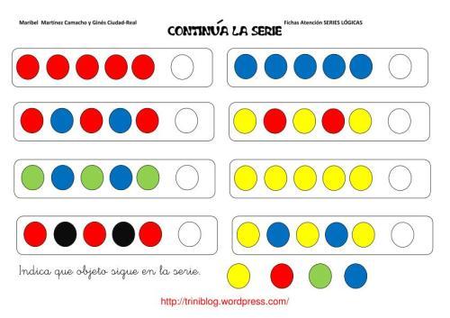Continua la serie con formas y colores-1