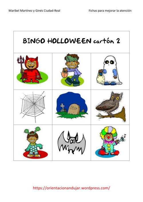 juguemos al bingo con orientacion andujar halloween-2