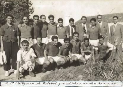 1953 (3 de Maio) - Equipa que alinhou nesse jogo 2