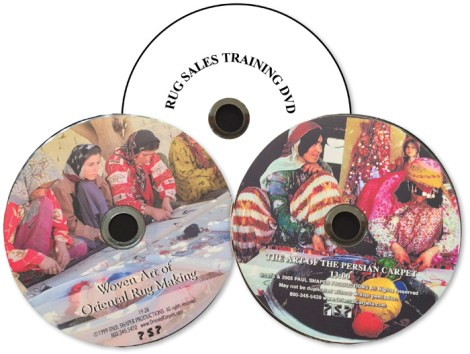 Paul Shaper's rugmaking DVDs