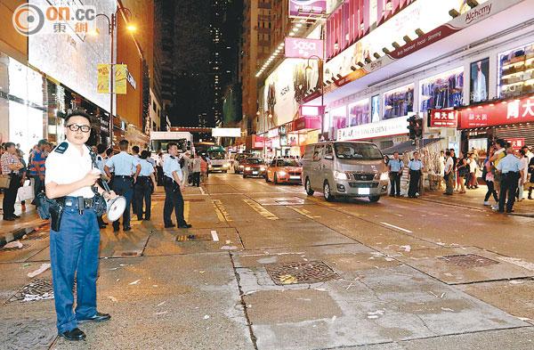 Tsim Tsa Tsui being cleared