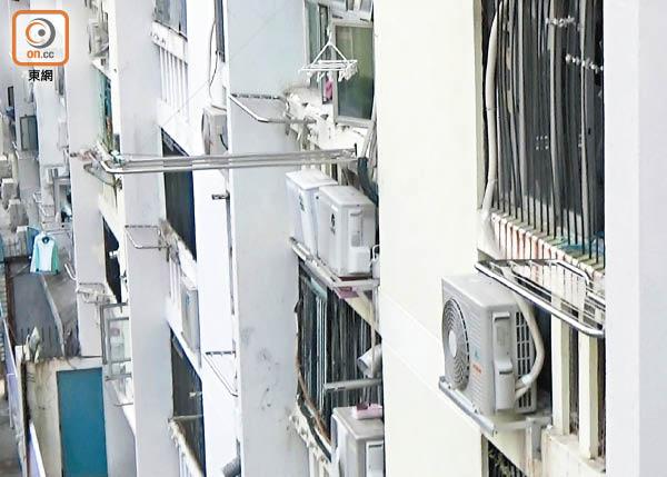 探射燈:裝冷氣指引亂 房署玩謝公屋戶 - 東方日報
