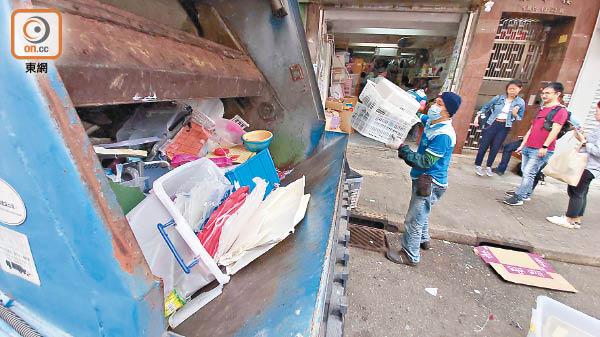 綠色先鋒:中央收膠培養社區回收習慣 - 東方日報