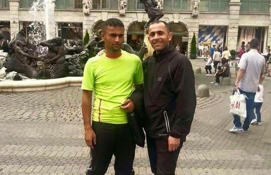 """Al-Hajag unokatestvérével már Nürnbergben él és oltalmazott menekültként """"integrálódik"""" a német társadalomba."""