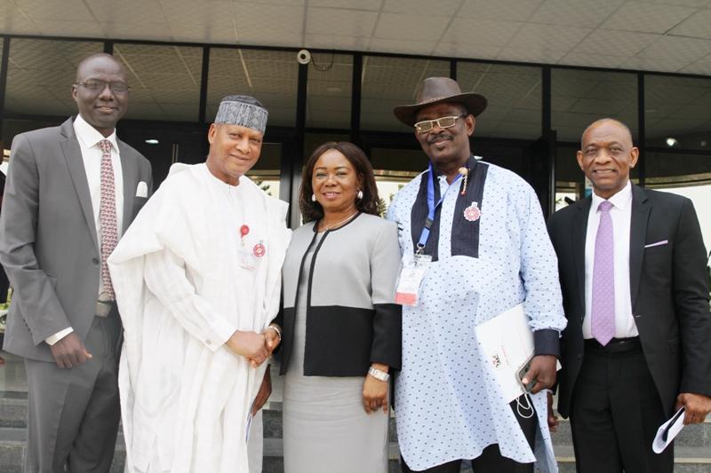 SENATE OVERSIGHT VISIT 1 - 2020 budget: Adamawa senator lauds Buhari's suspension of foreign trips for cabinet members