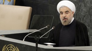 Iran's President Hassan Rouhani speaking to UNGA: nuclear talks possible (September 24, 2013)