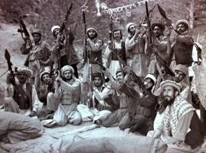 US-sponsored mujahedin in 1984 (Afghanistan).