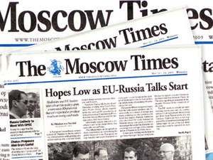 The Moscow Times itself has lost money almost each year since its establishment.