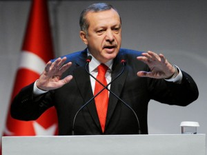 """Turkey's President Erdogan, on 4 October said: """"Foreign fighters have never entered Syria from our country. They may come to our country as tourists and cross into Syria, but no one can say that they cross in with their arms,"""" adding that Turkey had prevented 6,000 jihadists from entering Turkey and had deported another thousand."""