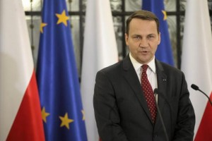 Radoslaw Sikorski is well known for his anti-Russian position.