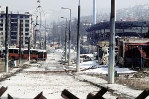 Ruins of Saraevo, 1995