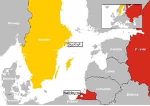 Sweden with small map2