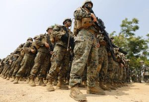 The US-led annual Cobra Gold exercise in Chonburi province, Thailand