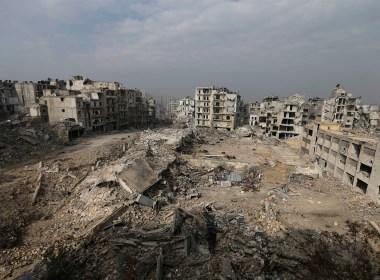 Ruins of Aleppo, Syria 2017