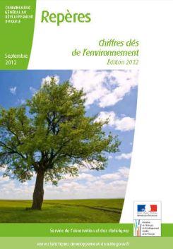 chiffres clés de l'environnement 2012