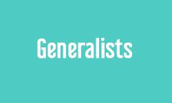Generalists