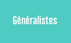 Généralistes