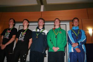 Individual Senior Boys Medal Winners