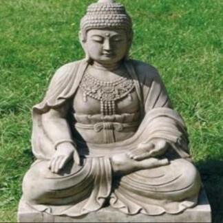 Buddha sitzend gross