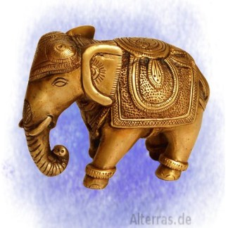Elefant aus Messing - Elefant aus Messing