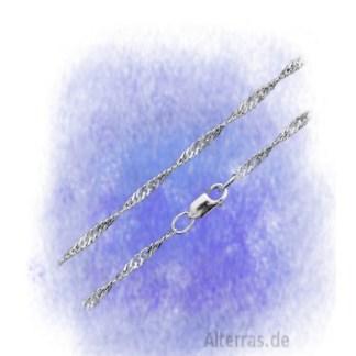Kette Doppelpanzerkette gedreht - 2,5mm aus 925-Silber