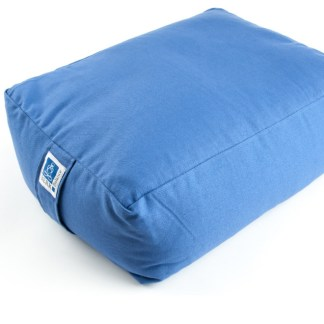 Quader Meditationskissen blau
