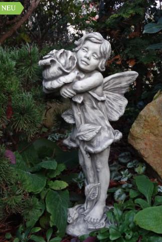 """Flower Fairy Rose3 - Flower Fairy """"ROSE"""", Blumenfee aus Steinguss"""