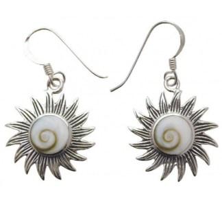Ohranhänger Shivas Auge Sonne 20mm