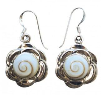 Ohranhänger Shivas Auge im Lotus 20mm