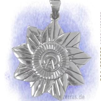 Anhänger Alpha und Omega aus 925-Silber