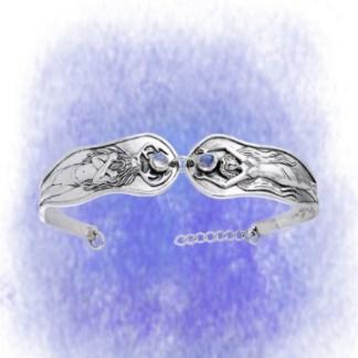 Armreif Armreif Gott und Göttin aus 925-Silber