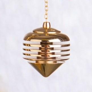 Pendel Novum Messing vergoldet