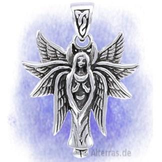 Anhänger Schutzengel der Liebe aus 925-Silber