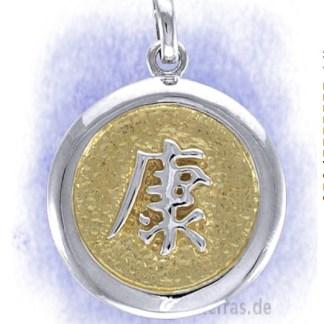 Anhänger Wohlbefinden aus 925-Silber