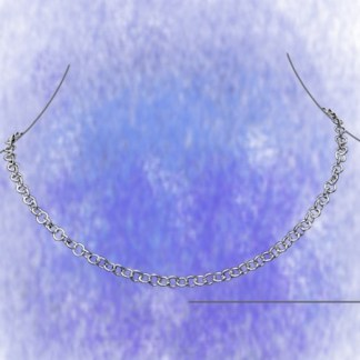 Kette Ankerkette - rund - 6mm aus 925-Silber