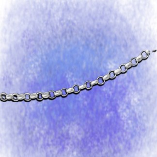 Kette Erbskette – rund – 2,6mm aus 925-Silber