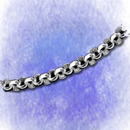 Kette Erbskette - rund - 4,6mm aus 925-Silber