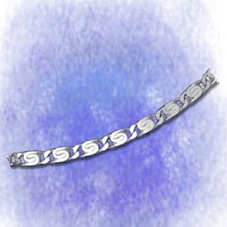 Kette S-Panzerkette - diamantiert - 3,3mm aus 925-Silber