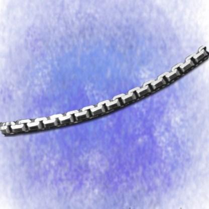 Kette Venezianerkette – 8-fach diamantiert – 2,4mm aus 925-Silber
