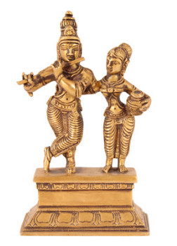 Krishna Radhe-Krishna stehend 16cm2