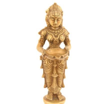 Lakshmi-Deep stehend fein 24cm