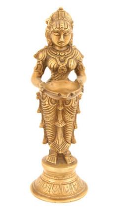 Lakshmi-Deep stehend fein 24cm2