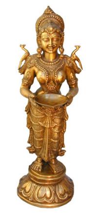 Lakshmi-Deep stehend fein 80cm2
