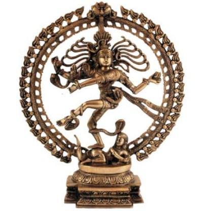 Shiva Nataraj 50cm superfein hell-antik