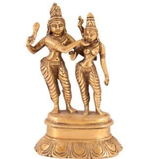 Shiva-Parvati stehend 15cm