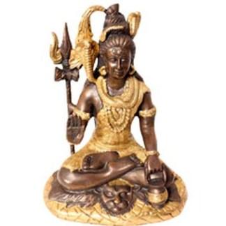 Shiva sitzend 26cm